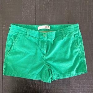 Joe Fresh Green Dressy shorts